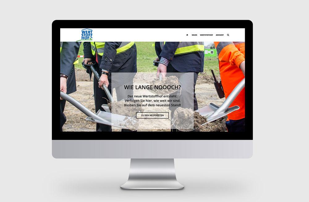 Webseite Wertstoffhof Herne – Startseite