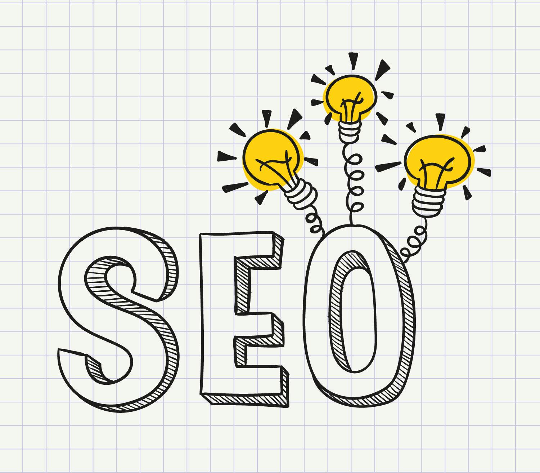 SEO mit Wordpress – Zeichnung Buchstaben SEO